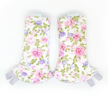 Floral Bouquet Reversible Curved Droolpads and Bib Set-Bibs-My Babblings™-Floral Bouquet Curved Droolpads only-My Babblings™