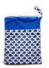 My Babblings Large Reusable Wet Bag-Wet Bag-My Babblings-Travelling Whales-My Babblings™