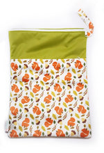 My Babblings Large Reusable Wet Bag-Wet Bag-My Babblings-Squirrels Love Acorns-My Babblings™