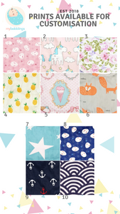 Customised Stroller Bumper Protector-Stroller Protectors-My Babblings™-My Babblings™