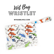 My Babblings Reusable Wet Bag Wristlet-Wet Bag-My Babblings-Shark Attack-My Babblings™