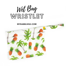 My Babblings Reusable Wet Bag Wristlet-Wet Bag-My Babblings-Pineapple Paradise-My Babblings™