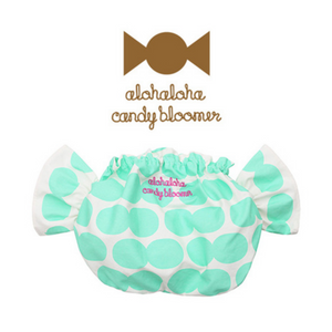 Alohaloha Candy Bloomer キャンディブルマ-Baby Apparel-My Babblings-Mint Kiwi Bomb Candybloomer-My Babblings™