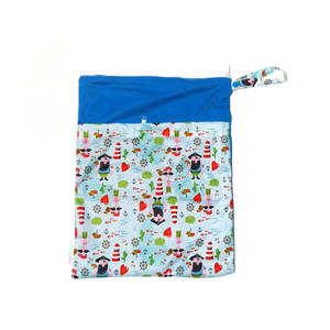 My Babblings Large Reusable Wet Bag-Wet Bag-My Babblings-Pirates Adventure-My Babblings™