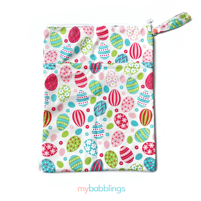My Babblings Large Reusable Wet Bag-Wet Bag-My Babblings-Easter Fiesta-My Babblings™