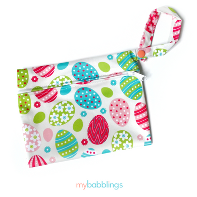 My Babblings Reusable Wet Bag Wristlet-Wet Bag-My Babblings-Easter Fiesta-My Babblings™