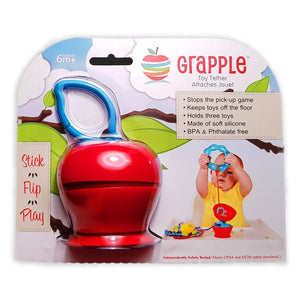 Grapple - The Essential Toy Tether-Grapple-My Babblings-Juicy Red Grapple-My Babblings™