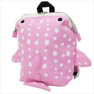 パプピ Petite Backpack-Bag-My Babblings-Pink Spotted Whale-My Babblings™