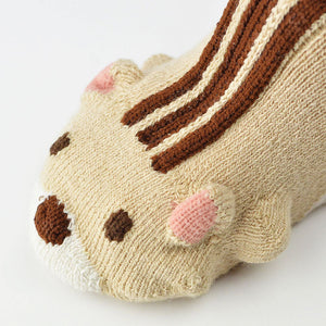 ポプキンズ 3D Pop Up Socks (Made in Japan)-Baby Socks-My Babblings-Cheeky Chipmunk-My Babblings™