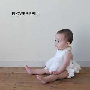 Alohaloha BIBSY Bib-Top ビブシィガールズ-Baby Apparel-My Babblings-Flower Frills-My Babblings™