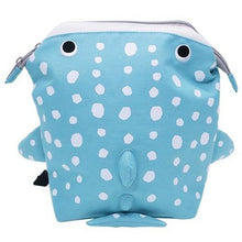 パプピ Petite Backpack-Bag-My Babblings-Blue Spotted Whale-My Babblings™