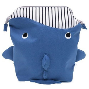 パプピ Petite Backpack-Bag-My Babblings-Navy Whale-My Babblings™