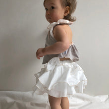 Alohaloha Bouquet Bloomer ブーケブルマー-Baby Apparel-My Babblings-White bouquet with beige trim-My Babblings™