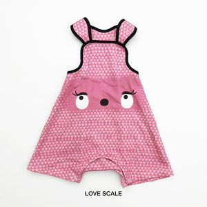 Alohaloha SALOPETS サロペッツ TINY MONSTERS-Baby Apparel-My Babblings-Love Scale-My Babblings™
