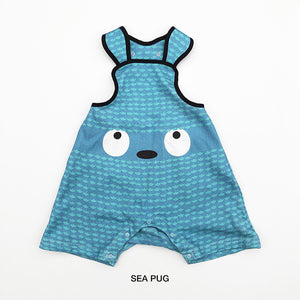 Alohaloha SALOPETS サロペッツ TINY MONSTERS-Baby Apparel-My Babblings-Sea Pug-My Babblings™