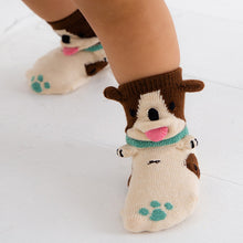 ポプキンズ 3D Pop Up Socks (Made in Japan)-Baby Socks-My Babblings-Mint Paw Dog-My Babblings™