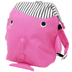 パプピ Petite Backpack-Bag-My Babblings-Pink Whale-My Babblings™