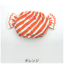 Alohaloha Candy Bloomer キャンディブルマ-Baby Apparel-My Babblings-Orange Apple Peel Candybloomer-My Babblings™
