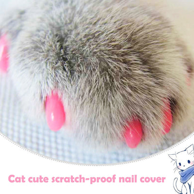Silicone Soft Cat Nail Caps