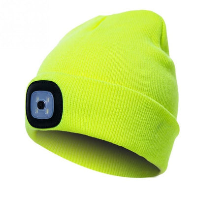 Unisex Autumn Winter LED Lighted Cap