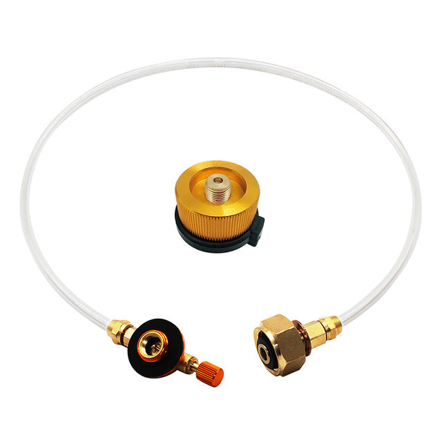 Outdoor Camping Gas Stove Propane Refill Adapter