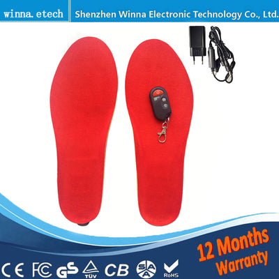 Usb Electrically Heating Insoles with Remote Control