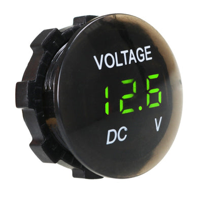 DC 12V-24V DIGITAL PANEL LED VOLTMETER