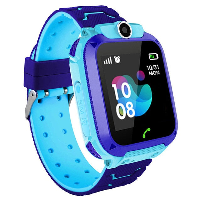 Anti Lost Child LBS Tracker SOS Smart Watch