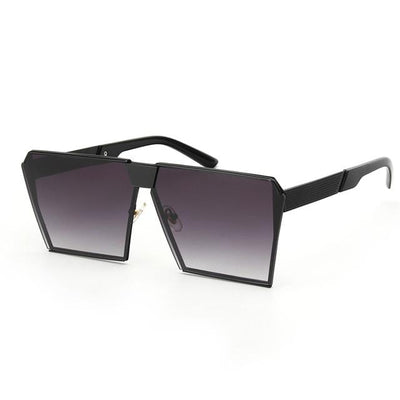 ROYAL GIRL Oversize Shield UV400 Sunglasses for Women