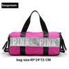 Love Pink Travel Bags & Totes