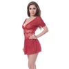 Lace Deep V Lingerie Sleepwear for Women