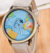 Creative Aircraft travel World Map Watches