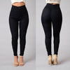Women High waist Stretch Skinny pants