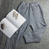 Women's Knitted Pants Loose casual fit