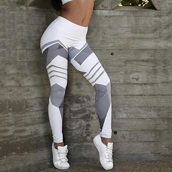 Quick Force Striped Fitness Wear For Women