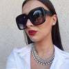 Women Retro Fashion Square Sunglasses