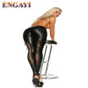 Sexy Latex  Lingerie Pants for Women