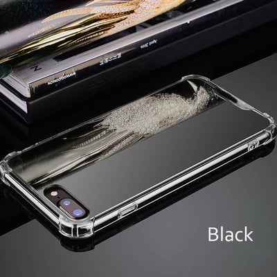Luxury Mirror Reflect Phone Cases for iPhone 7 7 Plus X 6 6S 8 Plus