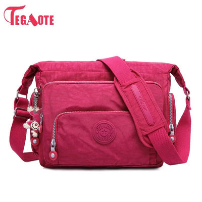 Nylon Waterproof Travel Bag Women's Cross body Bag
