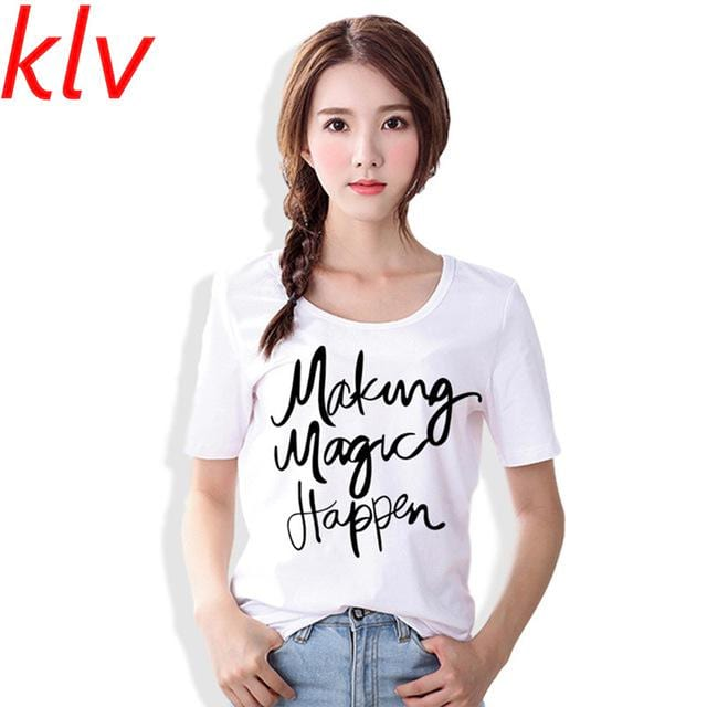 Making Magic Happen Casual Tee for Women
