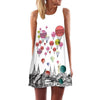 Fashion Girls Color Bomb Shirt Mini Dress