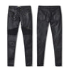 Faux Leather Stretch Pants for Women