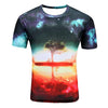 New Galaxy Space 3D T-shirt for Men