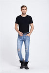 Destroyed Style Jeans For Men