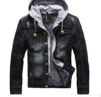 Jean Jacket for Men (Cashmere Interior)