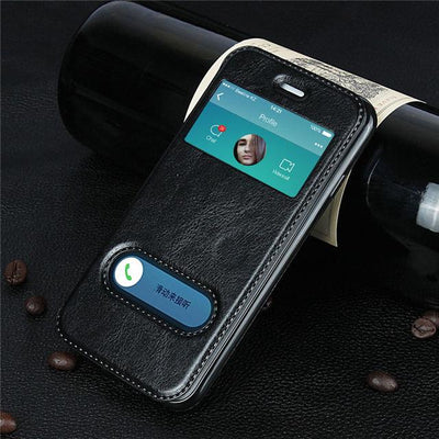 Luxury Case for iPhone 8, 7, 6,6s Plus, 7 plus X Cover Flip Phone Wallet