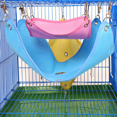 3 Sizes Pets Ferret Hamster Hanging Bed