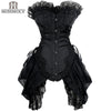 Sexy Gothic Style Lace up Boned  Corset Lingerie for Women