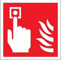 Fire Alarm Call Point (Symbols) Signs SSW0313