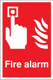 Fire alarm signs to clearly identify where your alarm is located SSW0314